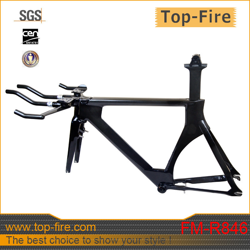 high performance bike carbon time trial frame for carbon TT frame 700c frameset frame+fork+seat post+seat post clamp FM-R846(China (Mainland))