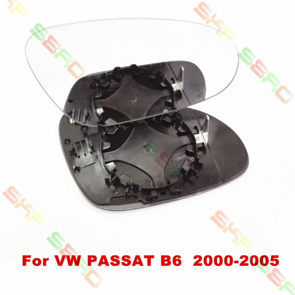 For Volkswagen VW PASSAT B6 2000-2005 Car styling Rearview Wing Mirror Glass 1 SET(China (Mainland))