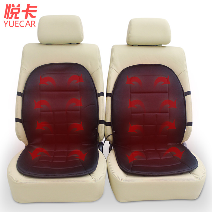 Card car heated seat cushion winter electric heated seat cushion car seater independent switch thermostat(China (Mainland))
