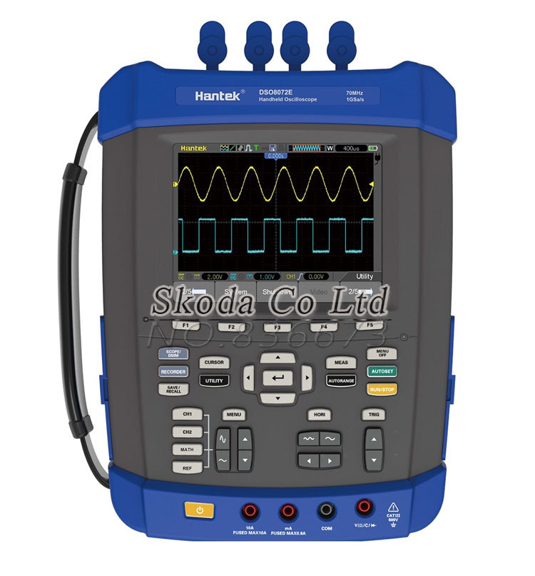Hantek 6 in1 Handheld Oscilloscope 100M 1G Scope/signal generator/Multimeter/Data Logger/frequency counter/FFT spectrum analysis(China (Mainland))
