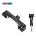 Gopro Accessories Universal Bridge Adapter Convert Mount with 1/4 Inch Connector Using For Xiaomi yi Camera DSLR Accessories
