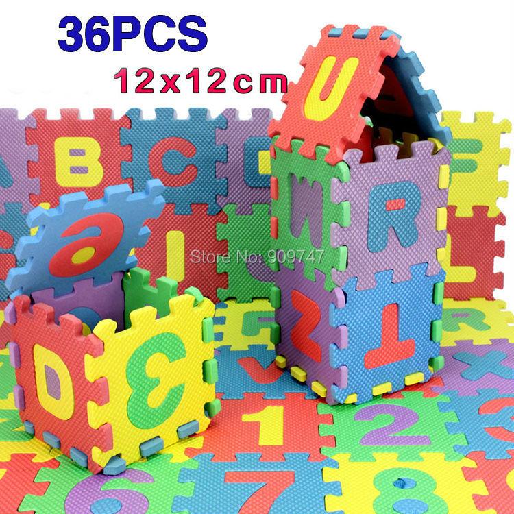 [해외]36PCS / 설정 미니 EVA 퍼즐 매트 교육 장난감 어린이 &am..