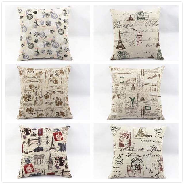 Hot sales zakka cheap cushion cover pillowcase for sofa/ home decoration/coffee shop/office(China (Mainland))