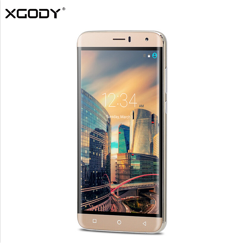XGODY Y15 Smartphone 6 Inch 3G Dual Sim Card Android 5.1 MT6580 Quad Core 8G ROM Mobile Phone 8MP Camera WiFi GPS Cell Phone(China (Mainland))