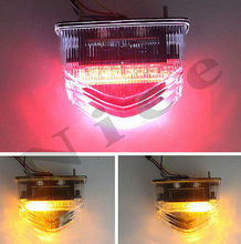 Details about  New Clear LED Tail Light Brake Turn Signals For 2007 2008 2009 honda CBR 600 RR (China (Mainland))