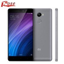 "Original Xiaomi Redmi 4 Snapdragon 430 Octa Core CPU 2GB RAM 16GB ROM 5.0"" 720P Fingerprient ID MIUI 8 cell phone(China (Mainland))"