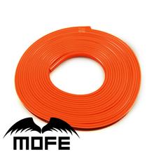 8Meter/Lot Orange New car styling  Anti-Scratch Rubber Rim Guard Car Rim Protector For Wheel Rim(China (Mainland))