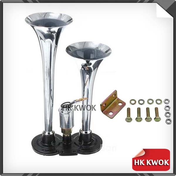 Клаксон 12V/24V Track Air Horn 12 RV 150db w/truckat P25 клаксон car loud horn 1 60w 12v 300db 5