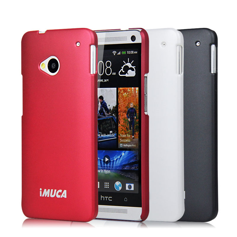 Ultra thin Case for HTC One M7 HTC M7 Phone Case Plastic hard Cover Mobile Phone Bags&Case(China (Mainland))