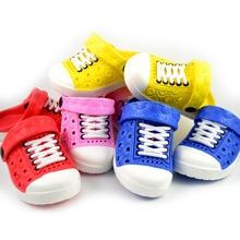 Neue 2015 Sommer Baby Mädchen Sandalen Loch Schuhe Jungen weichen Sohlen Slip Schuhe Kinder Clogs Schuhe Kinder Garten Schuhe Flip Flop(China (Mainland))