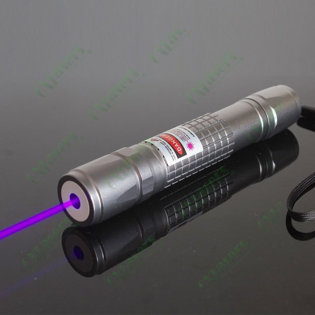 oxlasers OX-V40 405nm 500mW high power violet blue laser pointer flashlight  light cigars with 5 star caps  free shipping