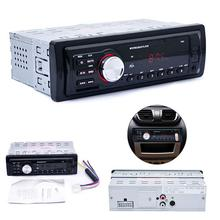 Car In-Dash Stereo Audio FM Aux Input Receiver SD USB MP3 WMA Radio Players car FM radio mp3 player with radio(China (Mainland))