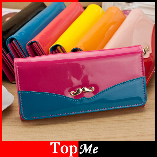 Fashion wallet cards holders Soft PU leather Women wallets lady purse handbags money clips coin purse clutch wallet bags