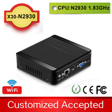 2015 New Fanless PC Mini PC Celeron Mini pc win8.1 X30-N2930 1.83GHz Dual Threadsupport linux / win 7 / win8 with Vesa Mount