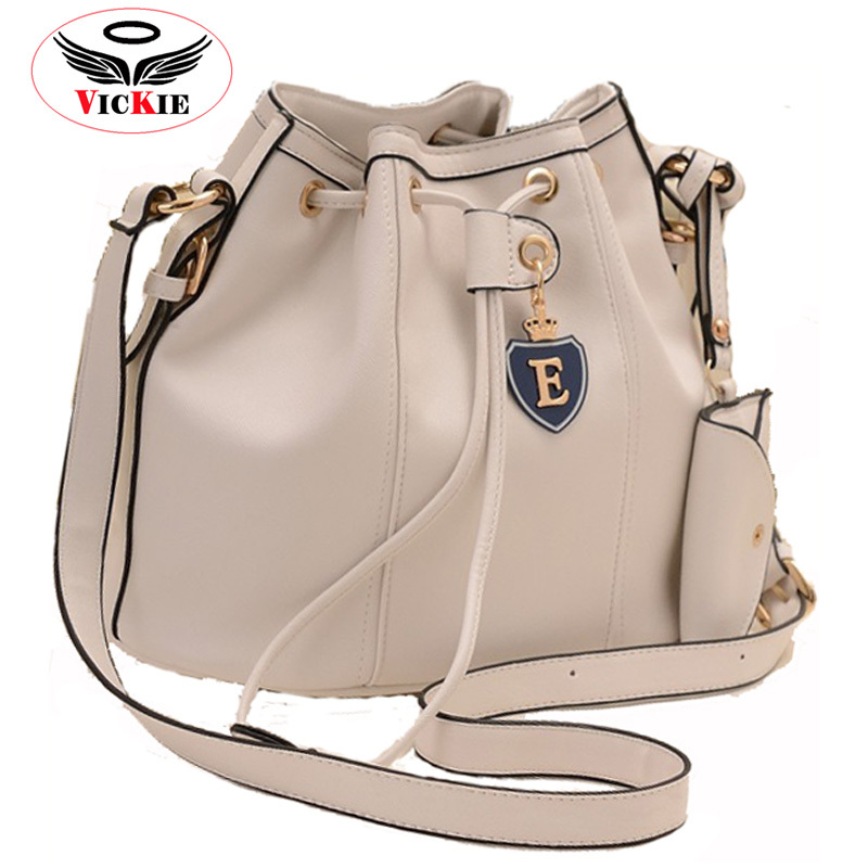 2015 Fashion Leather Women Shoulder Bags Bucket Bag Vintage Ladies Crossbody Bags String Woman Messenger Bag Bolsas Feminina S03(China (Mainland))