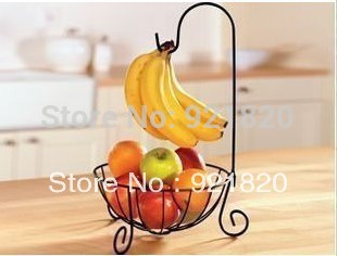 Holder Sale Living Room Food Single Shelves Storage 2015 New Fashion Rustic Furniture Iron Fruit Plate Basket Rack Rk06(China (Mainland))