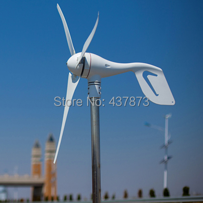 Wind turbine generator 600w max wind generation used for land&marine. Combine with wind controller.(China (Mainland))