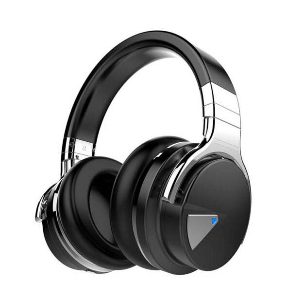 cowin e 7 active noise cancelling bluetooth headphones with mic wireless head. Black Bedroom Furniture Sets. Home Design Ideas