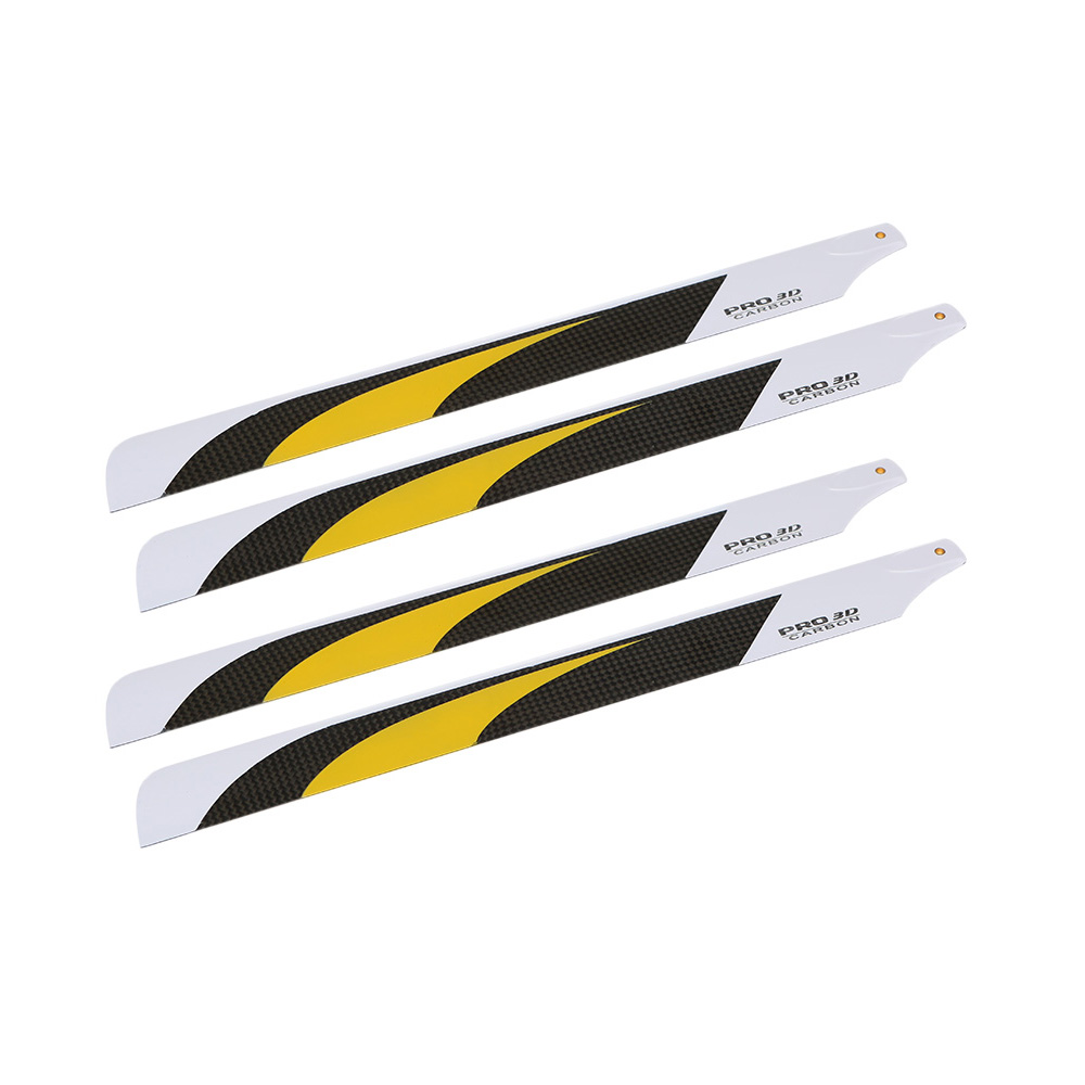 2 Pairs High Quality Carbon Fiber 325mm Main Blades for Align Trex Electric 450 & 325 Helicopter(China (Mainland))