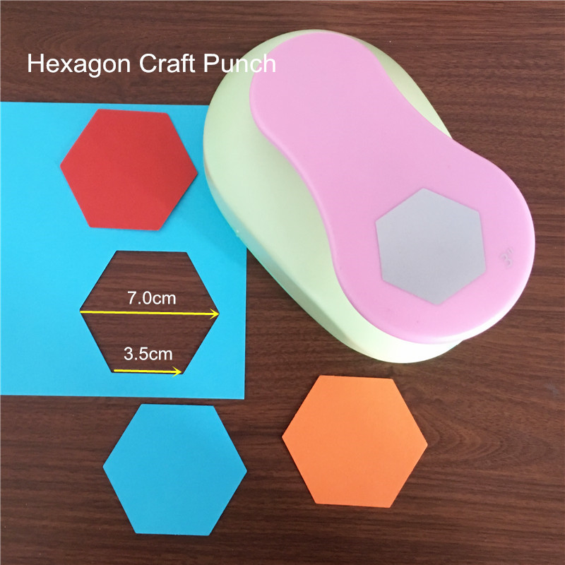 hexagon paper punch Make eye-catching cards and paper art with the fiskars® squeeze punch for  precision punching simply slide in a paper of your choice, push the handle down .
