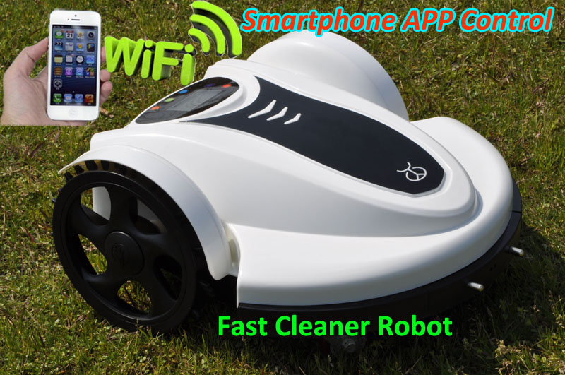 Robot Lawn Mower TC-158N With Auto Recharge,Schedule,LCD ,Range,Subarea,WIFI APP,Water-proofed Charge,Compass ,Lanauge Optional(China (Mainland))