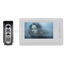 600 TVLine Kamera 7 zoll TFT Farbe LCD Display Video-türsprechanlage Sprechanlage Türklingel Nachtsicht(China (Mainland))
