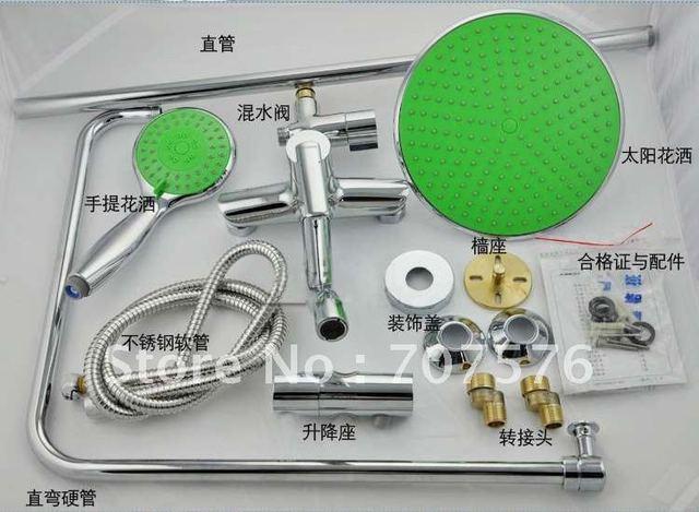 Bathroom Spray shower suite Imported ABS hand Held Shower Replacement Sprinkler  TSSC042-SET