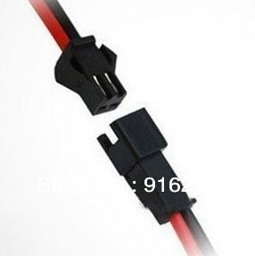 100pairs/lot 2 pin jst Connector Male/female 2 x 10cm Wire cable for single color led strip led bar light Lamp Driver CCTV(China (Mainland))