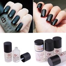 2015 New15ML magia super matte effetto opaco cambio trasfigurazione nail polish top coat superficie satinata olio nail art(China (Mainland))