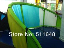 Free shipping 12m2 HYBRID kiteboarding kite with one pump system + kite bag(China (Mainland))