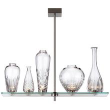 Modern Chandelier Simple Five Glass Bottle Chandelier Transparent Lighting Decor Bedroom Dining Room Study Lamp(China (Mainland))