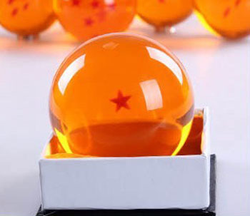 2015 Japanese Anime Dragonball Z Replica Crystal Ball (Large/1 Stars) 1.69 inch - Feng XQ Store store