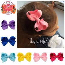 Buy 20pcs/lot Korean 3 Inch Grosgrain Ribbon hair Bows Accessories Clip Boutique Bow Hairpins Hair Ornaments 563 for $5.98 in AliExpress store