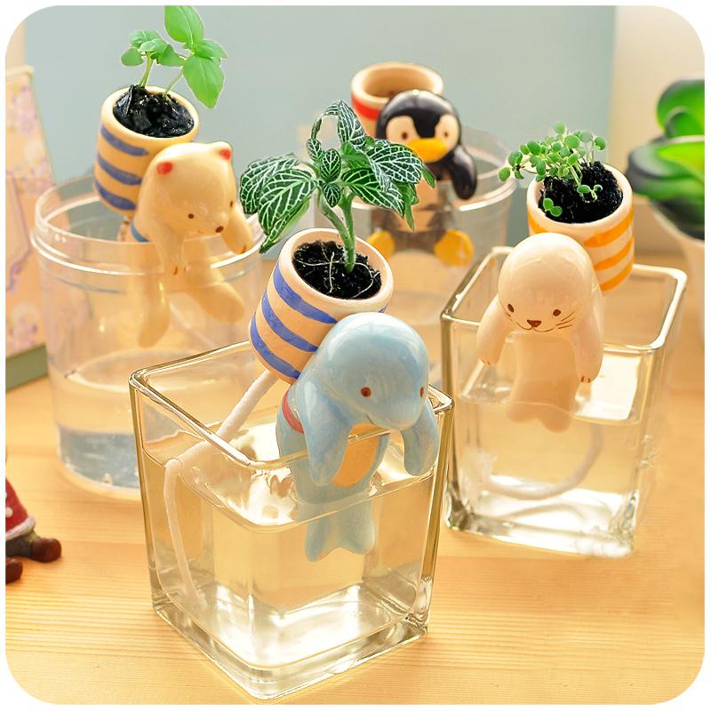Creative Cute Mini Microlandschaft Plant Pots Planter Indoor Office ...