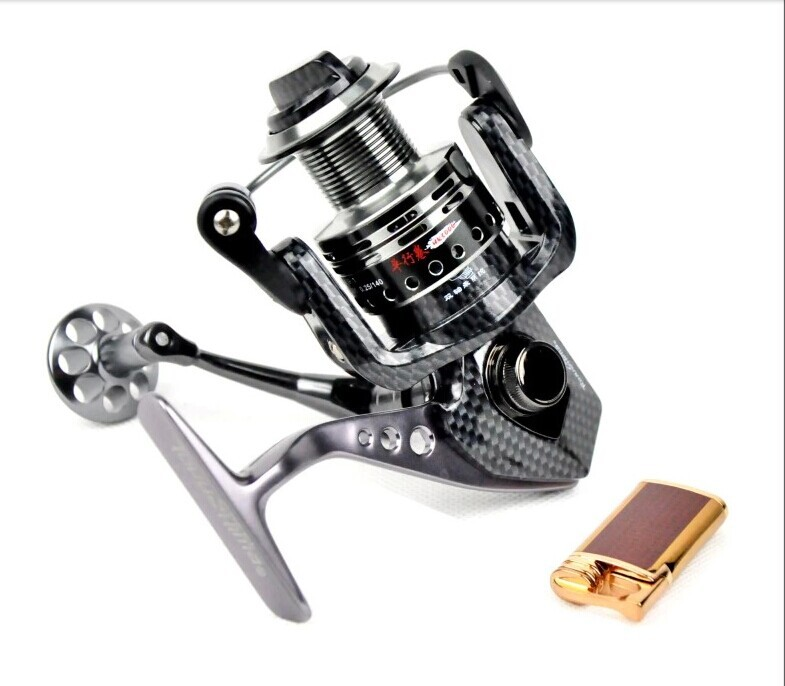 TOKUSHIMA HK metal fishing reel 5.5:1 13+1 Ball bearing Parallel line winding spinning fishing reels Free shipping(China (Mainland))