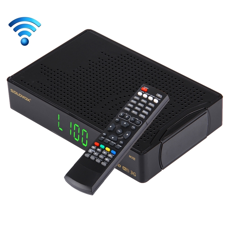 Original SOLOVOX M3S 1080p Full HD Satellite Receiver Youpron CCCAM/MGCAM/ Web Wireless WIFI Set-top Boxes Smart Media Player(China (Mainland))