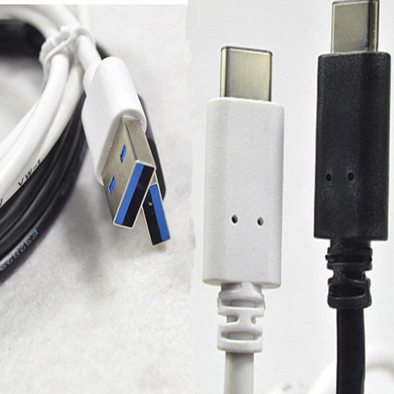 Black/ White USB Type C 3.1 to male USB A 3.0 Cable For Nokia N1/ Letv Le One for Pro for Max/x600/x800/x900 Type-C USB-C to Usb