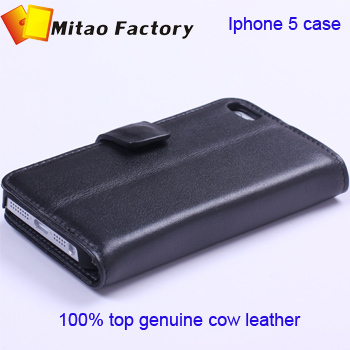 2013 Fashion Designer Wallet Case For iphone 5 5g With Card Holder Stand Design Leather Case For iphone 5 Mobile Phone Case