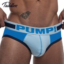 Designed Low Waist Sexy Men Underwear Briefs Gay Penis Pouch Wonderjock Mens Bikini Brief Underwear Sports Sleepwear Cotton(China (Mainland))