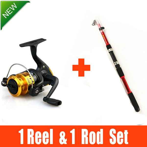 Letto 3.0M 3.6M FISHING ROD AND REEL SET Rod Combo Carbon Telescopic Fishing Rod and Reel vara de pesca de carbono(China (Mainland))
