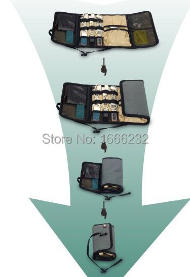 nbsp; nbsp; 中の Bubm防水電子アクセサリー ケース/旅行収納ケース/メンズ アウトドア ブランド バッグ/ツール ポーチ/オーガナイザー迷彩色