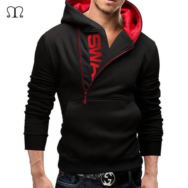 בתוספת גודל הדפסה עם ברדס מעיל מזדמן מעילי חורף התחביב ספורט עבור Assassins Creed בגדי גברים קפוצ 'ונים וג' ונים