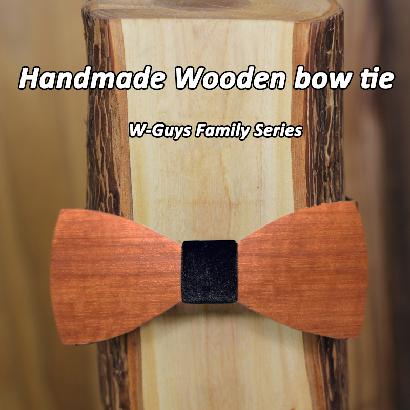 Free Shipping 16 Colors Fabric wood Fashion Bowties Men Colourful Red Wooden gravata Male Marriage Butterfly Wedding Bow ties(China (Mainland))