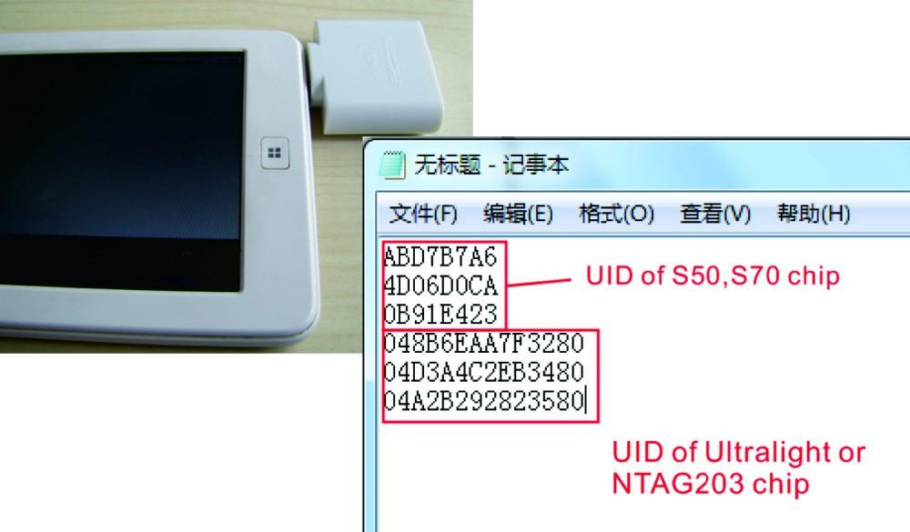 RfidLoginer NFC reader RFID reader Micro USB port OTG USB Read 8bits 14bits UID ( s50, S70, Mf Ultralight , NTAG203,Desfire CPU)(China (Mainland))