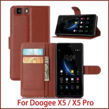 New Arrival For Doogee X5 Pro/ X5 Case Luxury Flip Leather Stand Case For Doogee X5 Pro/ X5 Hight Quality Leather Cover