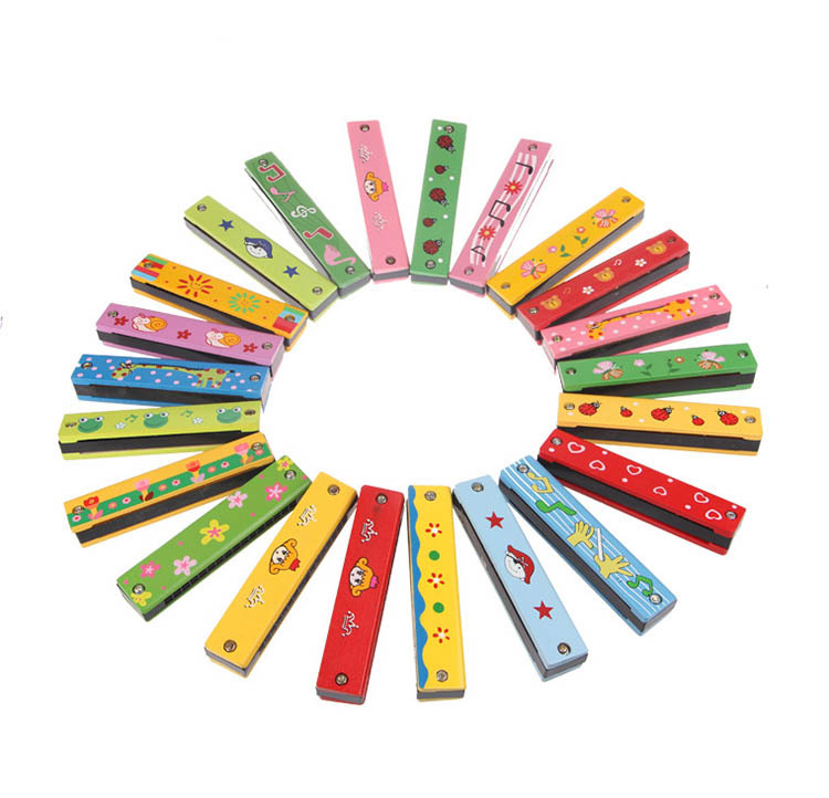 Baby Kids Toys Educational Swan Harmonica 16 Holes Musical Instruments Accessories Toy For Boys Girls 2015 Free Shipping