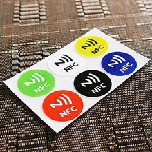 New Arrival Universal 6PCS Waterproof NFC Tag Stickers RFID Adhesive Label for Samsung iPhone 6 plus With Low Price