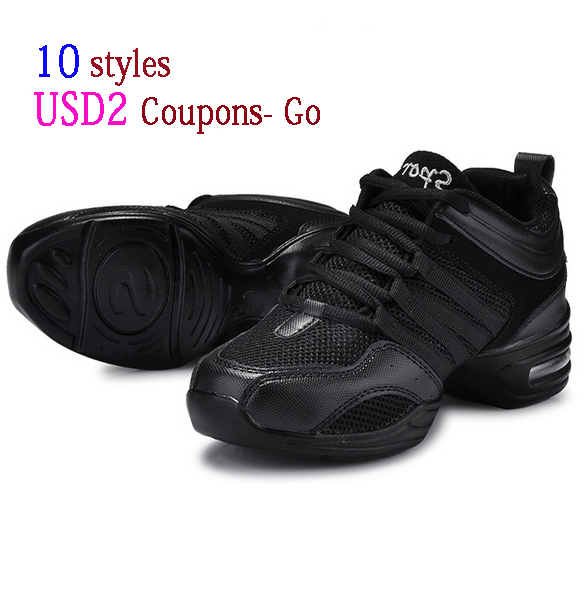 New Sports Feature Soft Outsole Breath Dance Shoes Sneakers For Woman Practice Shoes Modern Dance Jazz Shoes Discount(China (Mainland))