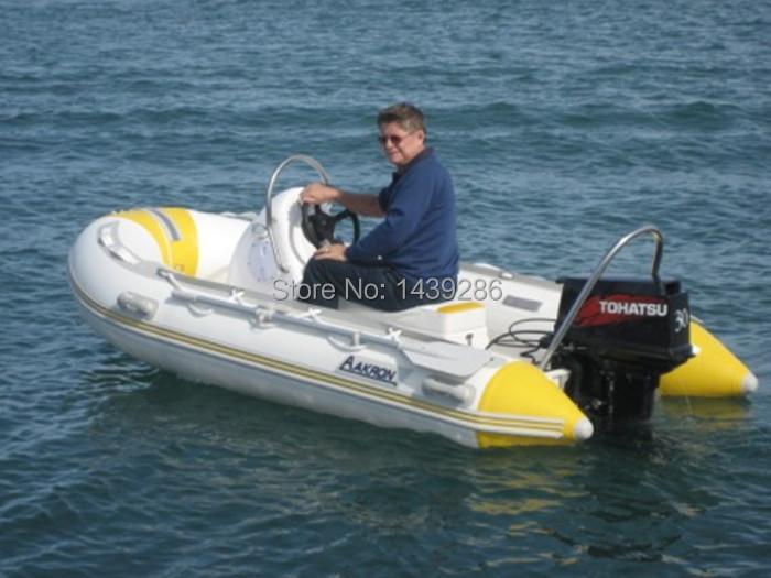 Fiberglass Rowing Boat inflatable boat small RIB boat(China (Mainland))