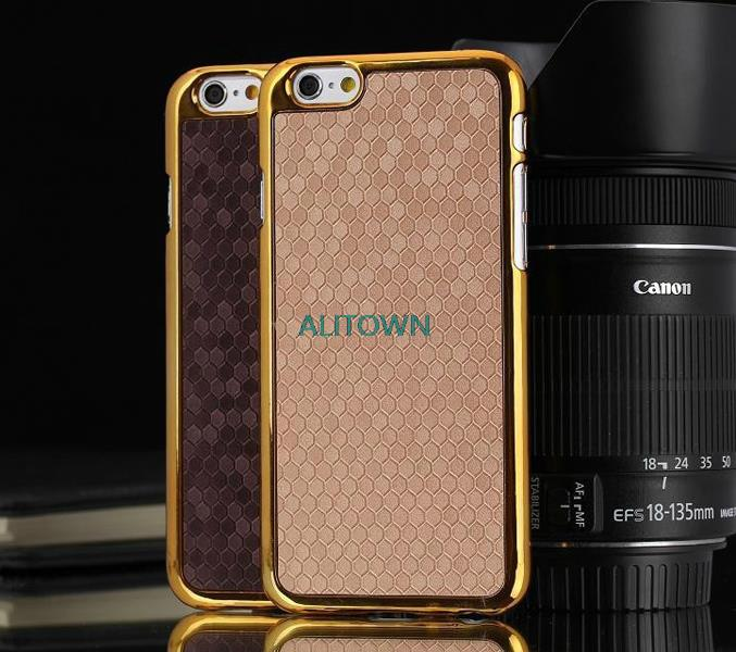 "Для iphone6 плюс чехол футбол шаблон кожи назад золото хром жесткий пк чехол для Apple , iphone 6 плюс 5.5 """